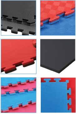 Gym mats are foam mats and jigsaw mats.