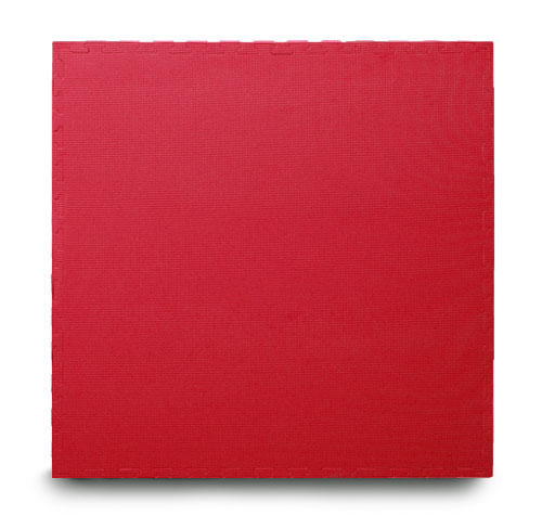 red EVA interlocking jigsaw mats