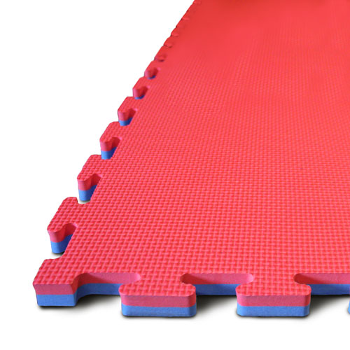 30mm EVA Jigsaw Mats Blue / Red