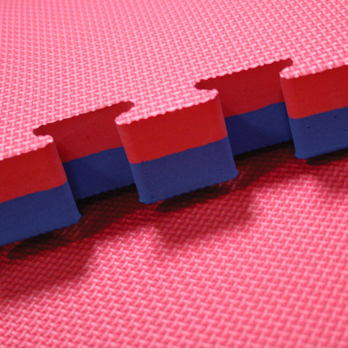 red blue 40mm jigsaw mats