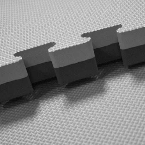Grey Black 40mm jigsaw mats