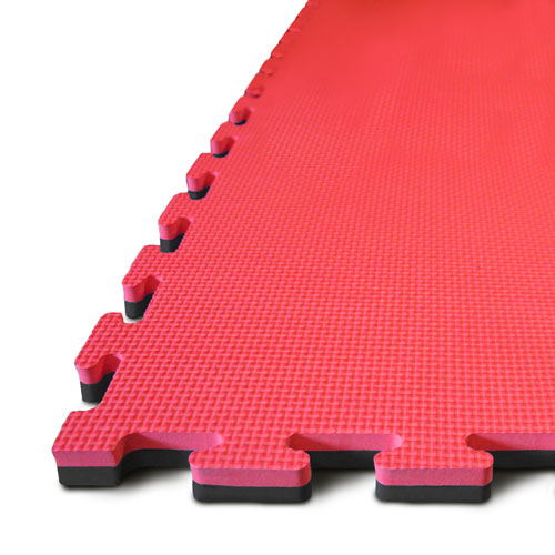 20mm EVA Jigsaw Mats Blue / Red