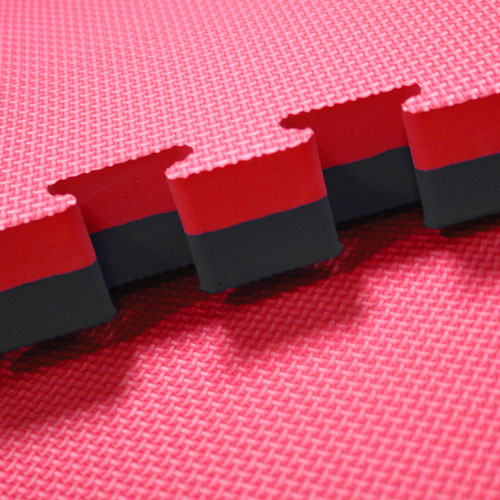 Red Black 40mm jigsaw mats