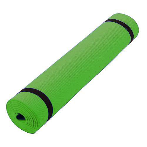 Green PVC Yoga Mats
