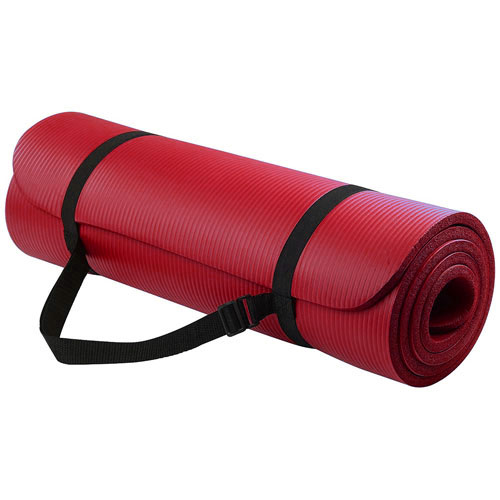 NRB Yoga Mats - Red, 10mm