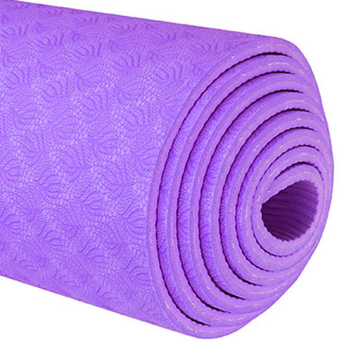 TPE Yoga Mats - Purple