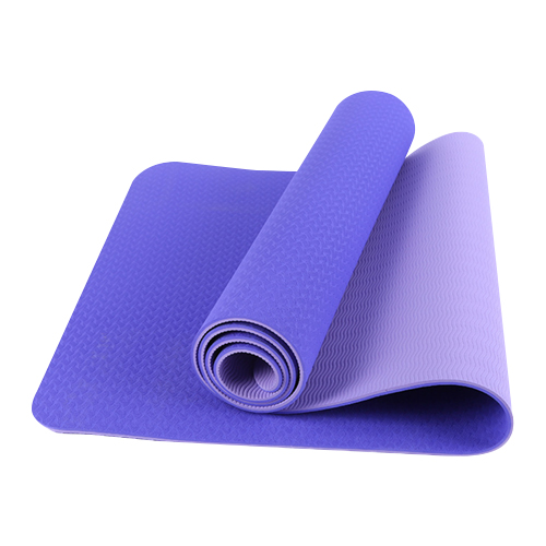 purple TPE yoga mats