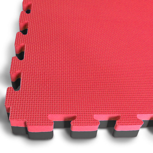 40mm EVA Jigsaw Mats Black / Red