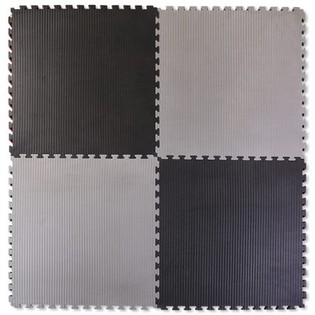 40mm Tatami Jigsaw Mats Black Grey Southern Crossmats