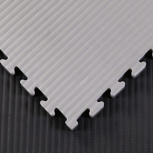 tatami jigsaw mats black and grey