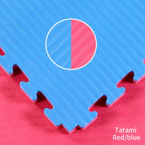 Red and Blue Tatami Jigsaw Mats
