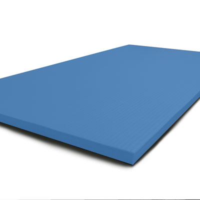 Blue Tatami mats
