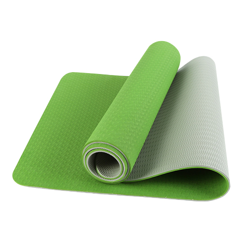 Green TPE yoga mats