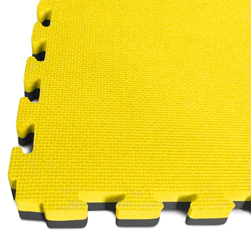 yellow/black tatami EVA jigsaw mats