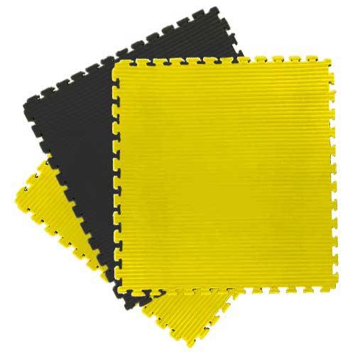 yellow tatami EVA jigsaw mats