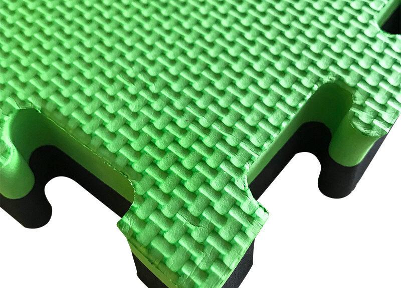Green & Black EVA mats