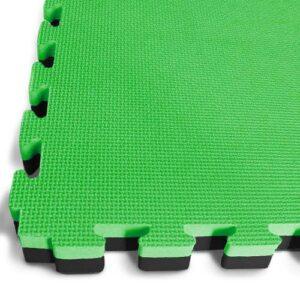 40mm EVA Jigsaw Mats - Green / Black